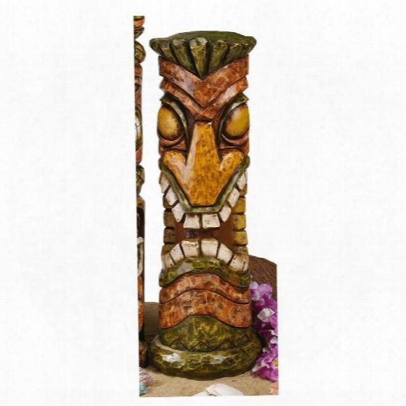 Aloha Hawaii Tiki Sculpture: Moai Haku Hana