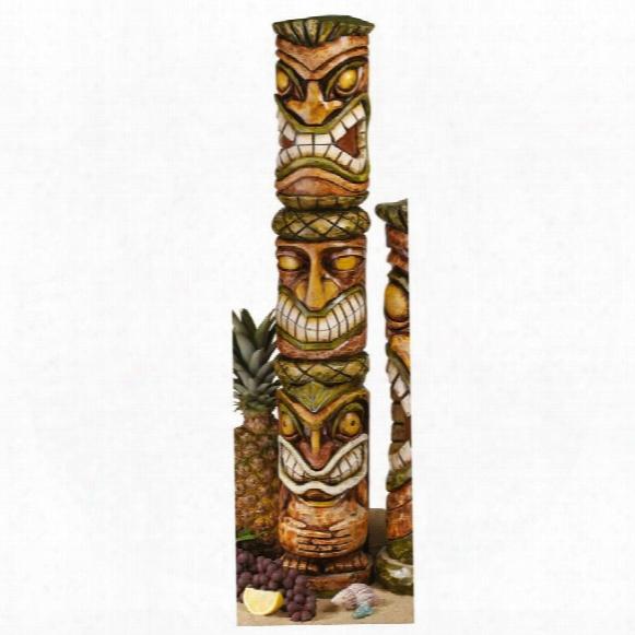 Aloha Hawaii Tiki Sculpture: Moai Haku Pani