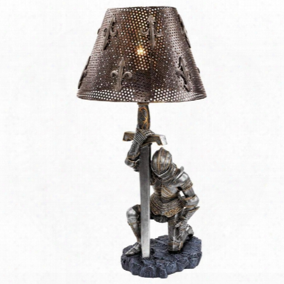 At Battle's End Sculptural Lamp