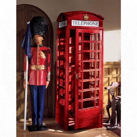 Authentic Replica British Telephone Booth