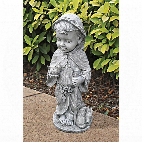 Baby Saint Francis Sculpture: Large