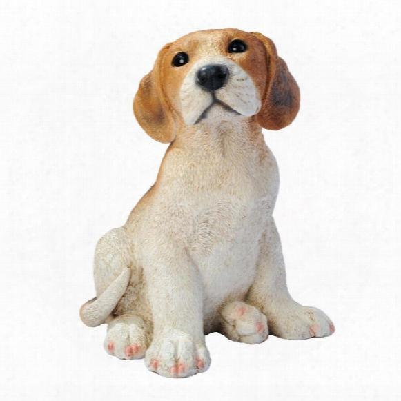 Beagle Puppy Dog Statue
