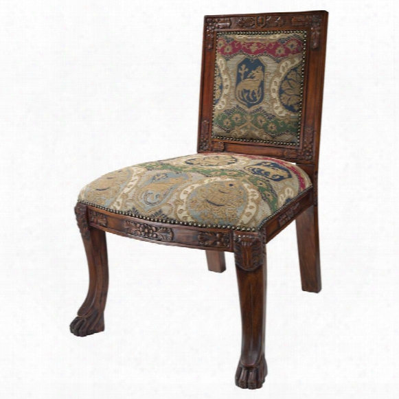 Beardsley  Heraldic Lion Side Chair