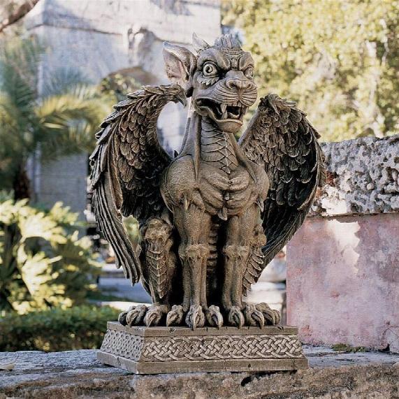 Boden Gargoyle Sentinel Scuplture