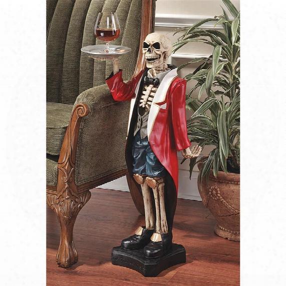 Bones, The English Butler Pedestal Sculptural Table