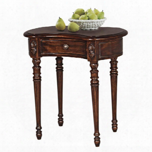 Bournemouth Manor Kidney-shaped Accent Table