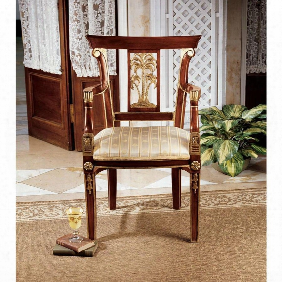 British Colonial Plantation Armchair