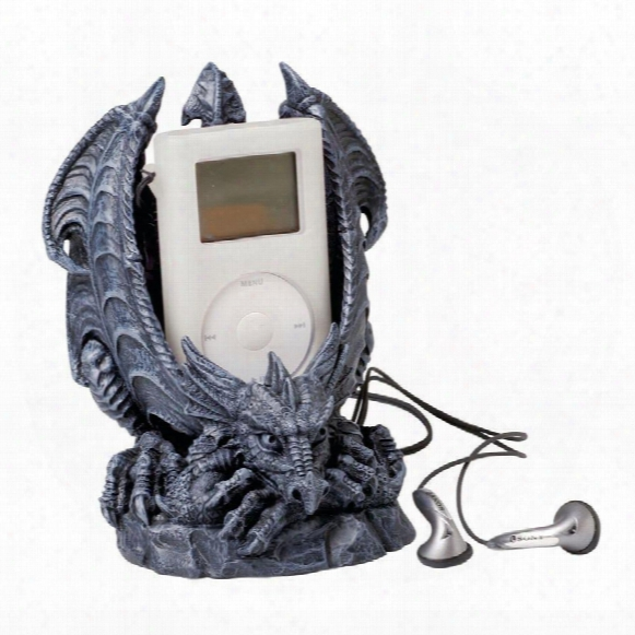 Celadon, The Mp3 Player Sentry Sculpture: Set Of Two