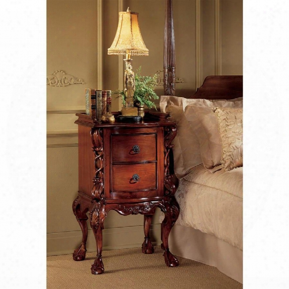 Chateau Lorraine Bedside Table