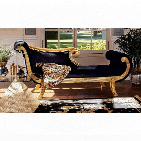 Cleopatra Neoclassical Chaise