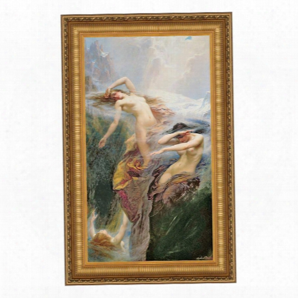 Clyties Of The Mist, 1912 Canvas Replica Painting: Grande
