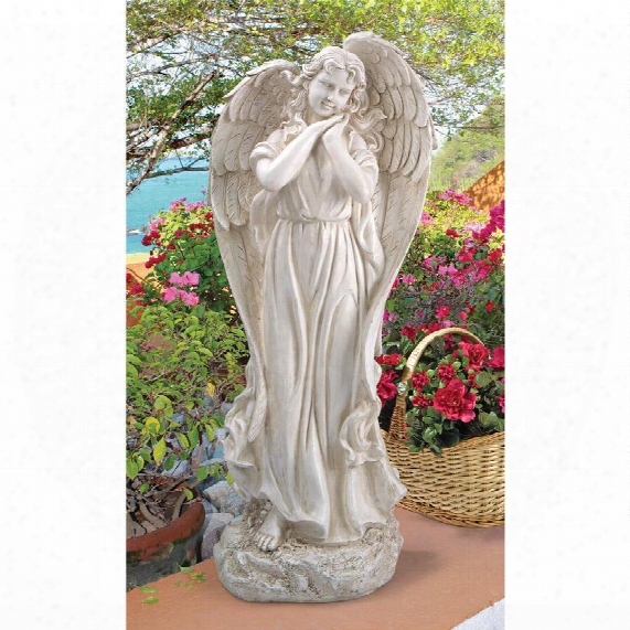 """Constance's Conscience"""" Garden Angel Statue"""
