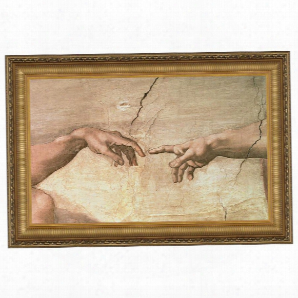 Creation, 1508-1512 Canvas Replica Painting: Grande