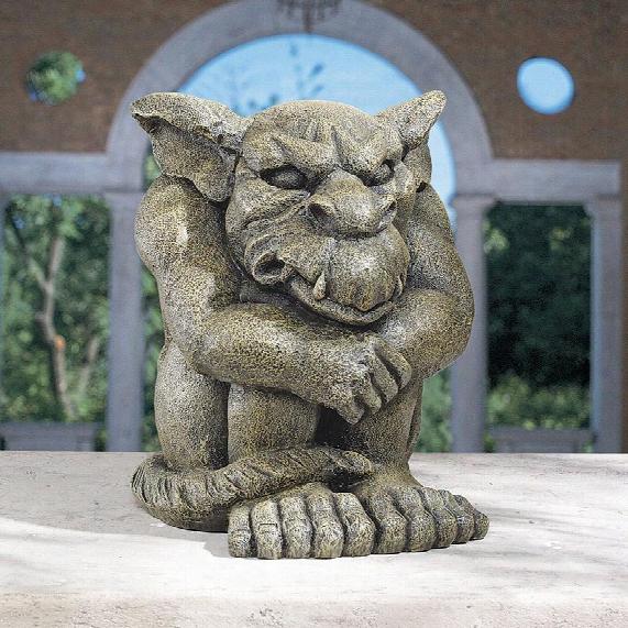 Detest The Rest Gargoyle Statue