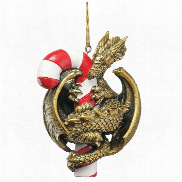 Dragon With A Sweet Tooth Holiday Ornament: Set Of Three