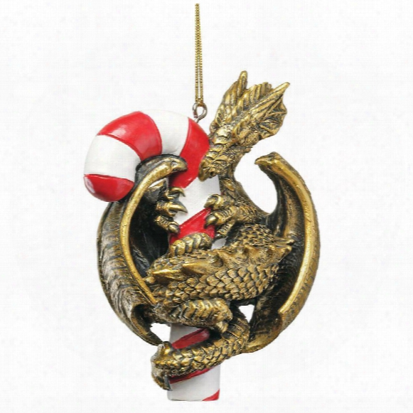 Dragon With A Sweet Tooth Holiday Ornament