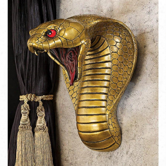 Egyptian Cobra Goddess Wall Sculpture