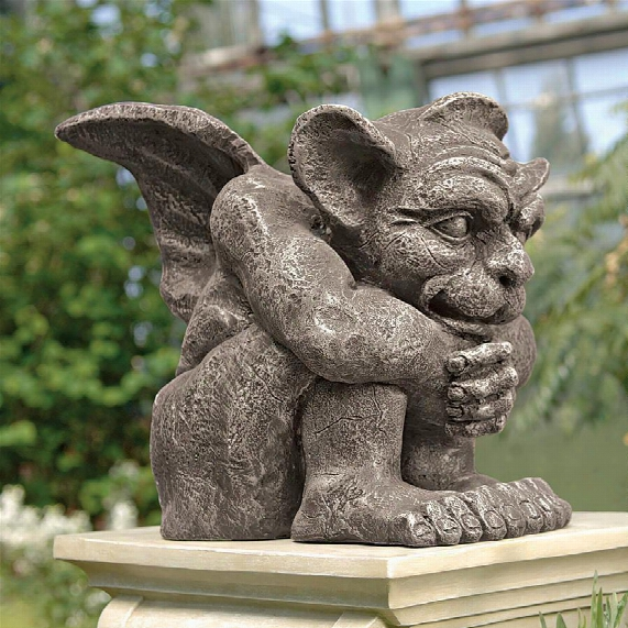 Emmett The Gargoyle Sculpture: Small