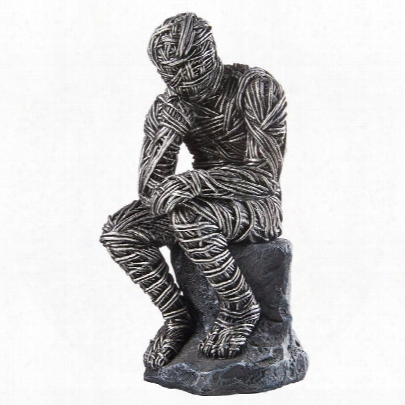 Enslavement To Knowledge: The Thinker Statue