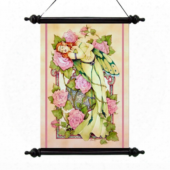 Entwined Canvas Wall Scroll
