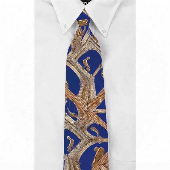 Escher - Another World 100% Silk Tie
