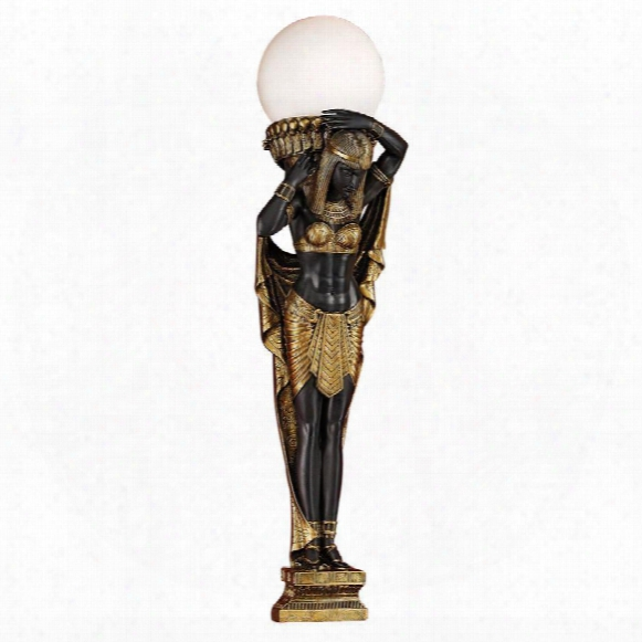 Female Egyptian Caryatid Sconce