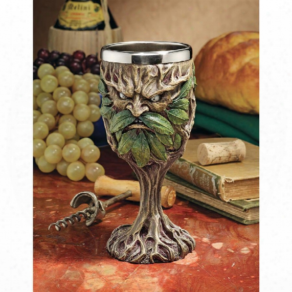 Forest Spirits Greenman Goblet Collection: Grendal The Green