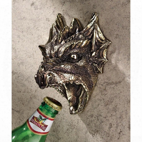 Gothic Dragon Bottle Opener