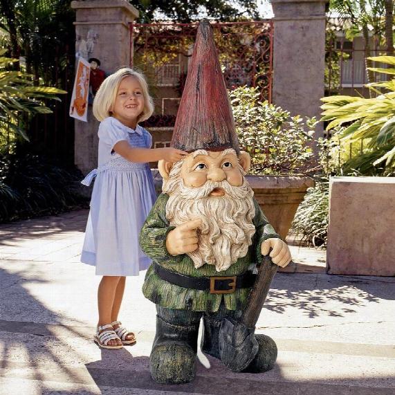 Gottfried, The Gigantic Garden Gnome Statue