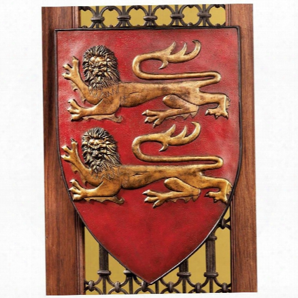 Grand Arms Of France Wall Shield Collection- William Of Normandy Shield