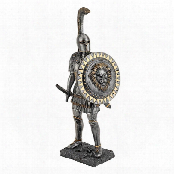 Greek Hoplite Warrior Statue