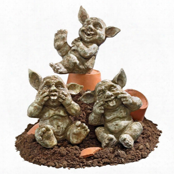 "Holy Terrors"" Gremlin Gargoyle Statues"