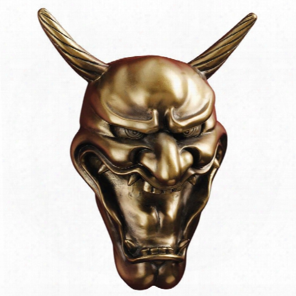 Kagura Hannya Demon Mask: Wall Sculptures