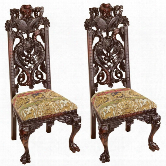 Knottingley Manor Chair: Set Of Two