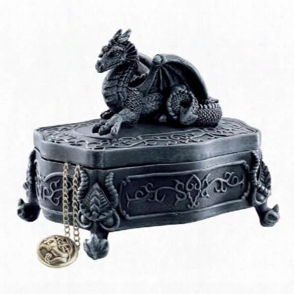 Legendary Dragon Of Glenshire Lidded Box