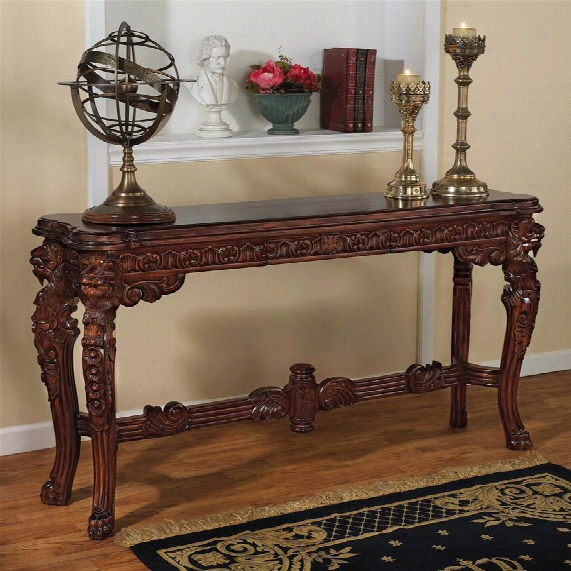 Lord Raffles Grand Hall Lion Leg Console