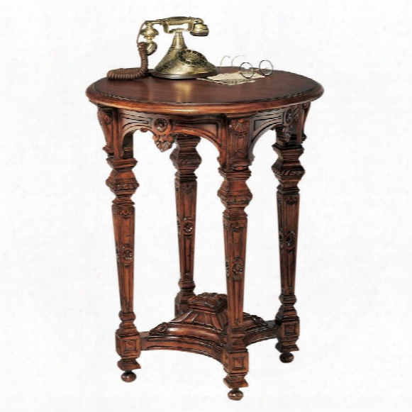 Louis Xiv Mahogany Side Table