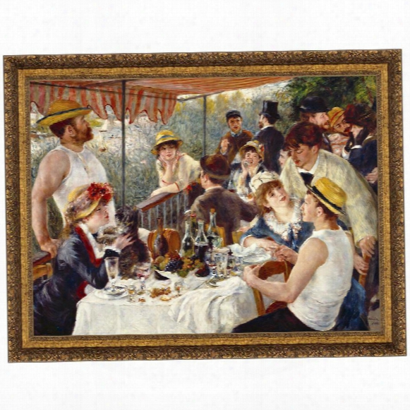 Luncheon Of The Boating Party, 1881, Canvas Replica Painting: Small