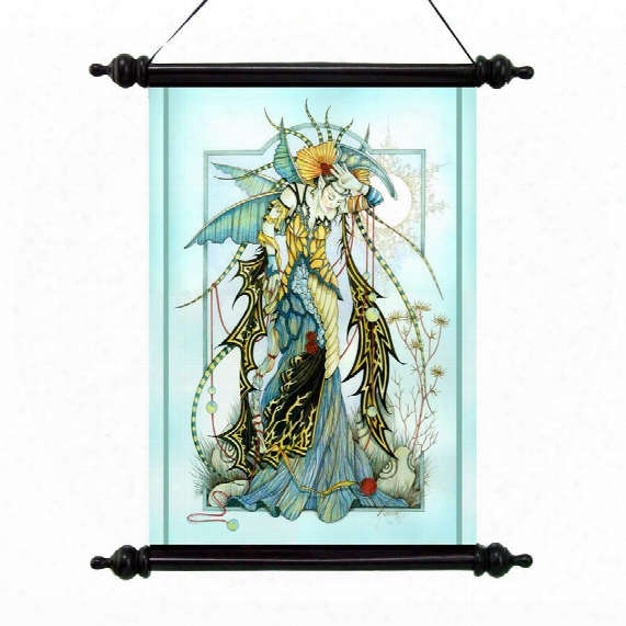 Moonstones The Enchantress Canvas Wall Scroll