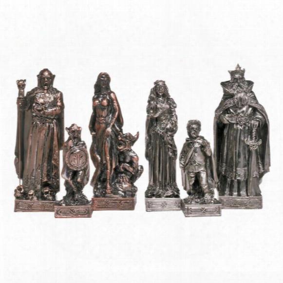 Mystical Legends Chess Pieces