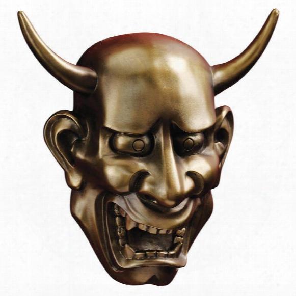 Noh Hannya Demon Mask: Wall Sculptures