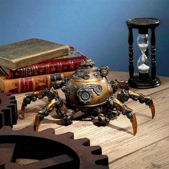 Octopod Mechanical Steampunk Sculputre
