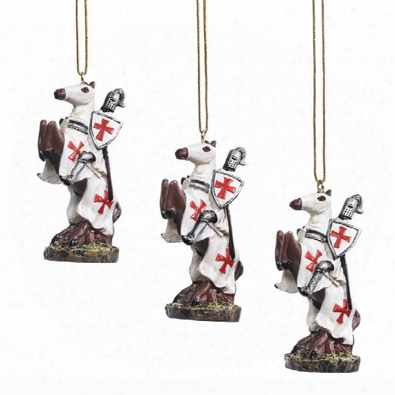 Order Of The Teutonic Knights Holiday Ornament Collection: Impart Of Six