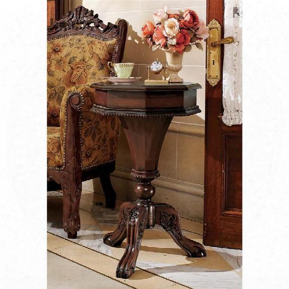 Pembroke Octagonal Hinged Side Table