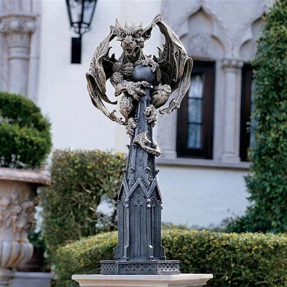 Raptor, Gargoyle Surveyor Of The Realm Sculpture