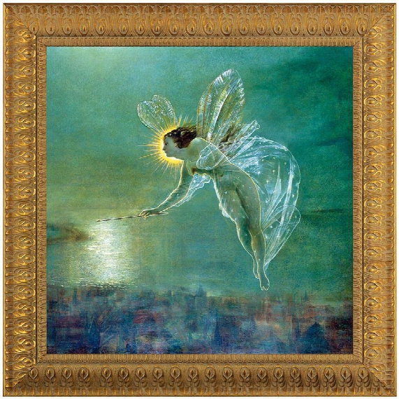 Spirit Of The Night, 1879, Canvas Replica Painting: Extra Small
