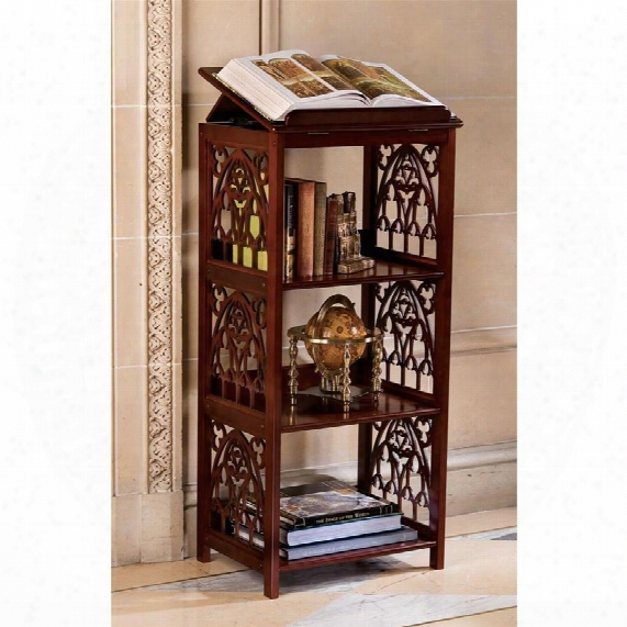 St. Thomas Aquinas Gothic Wooden Bookstand
