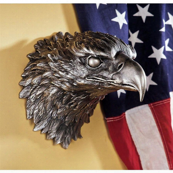 Strength Defined Eagle Wall Sculpture