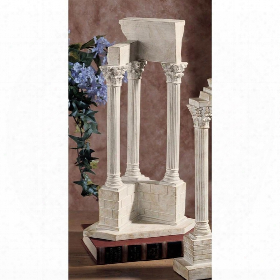 Temple Of Vespasian Column: Corner