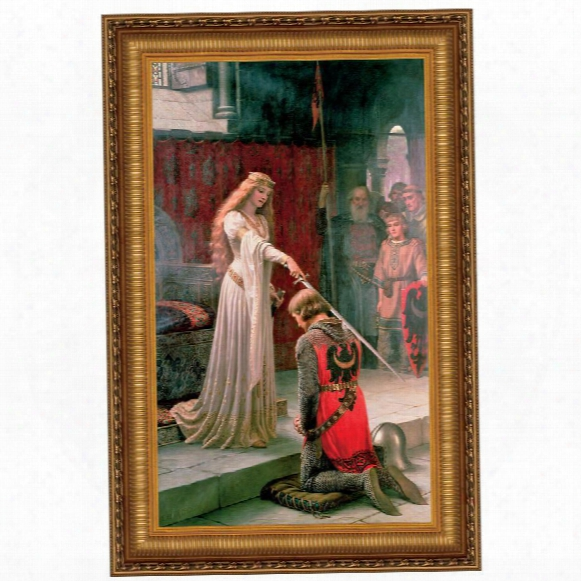 The Accolade, 1901, Canvas Replica Painting: Grande